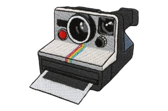 Grindstore Retro Camera Patch (Grey) (One Size)