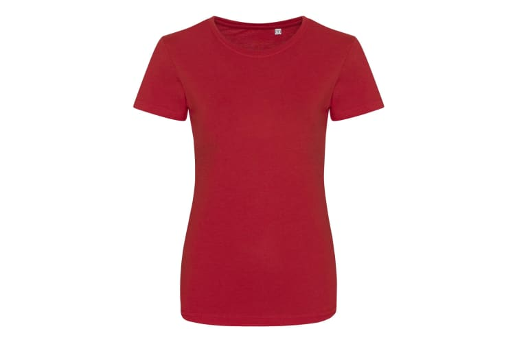 AWDis Womens/Ladies Girlie Tri-Blend T-Shirt (Solid Red) (M)