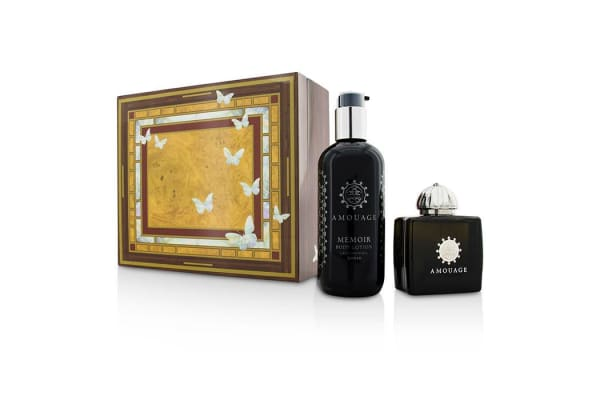 Amouage Memoir Coffret: Eau De Parfum Spray 100ml/3.4oz+ Body Lotion 300ml/10oz (2pcs)
