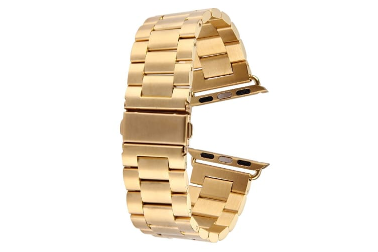 Gold For Apple Watch (42mm) Butterfly Stainless Steel Watch Strap