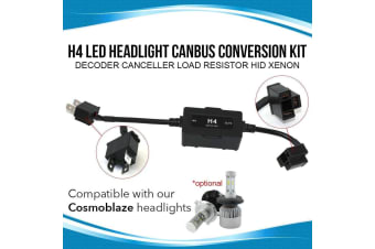 Elinz H4 LED Headlight Canbus Conversion Kit Decoder Canceller Load Resistor HID Xenon