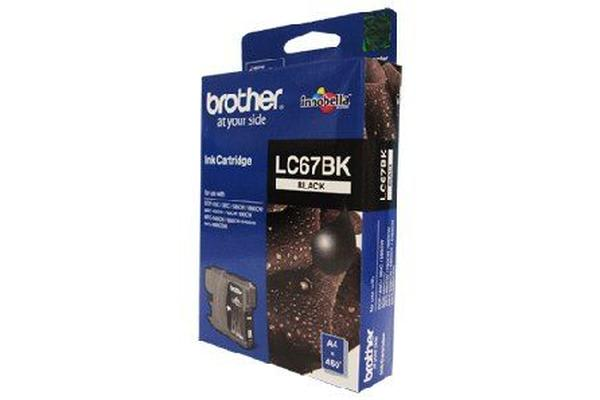 Brother LC-67BKBlack Ink Suits DCP-385C