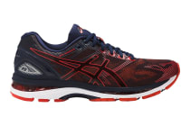 ASICS Men's Gel-Nimbus 19 Running Shoe (Peacoat/Red Clay/Peacoat)