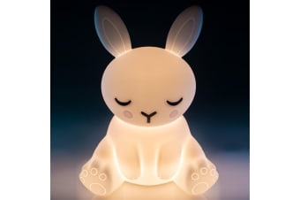 TouchSensitive Soft Silicone Bunny Rabbit Rechargeable LED Night Light