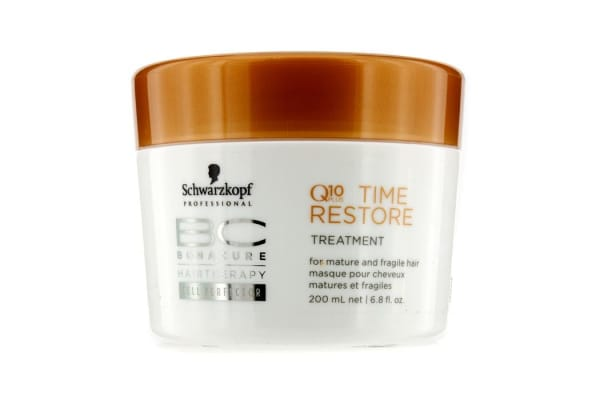 Schwarzkopf BC Time Restore Q10 Plus Treatment - For Mature and Fragile Hair (New Packaging) (200ml/6.8oz)