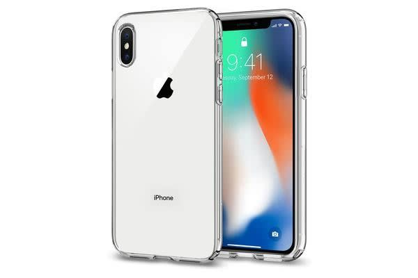Spigen iPhone X Liquid Crystal Case ULTRA-THIN