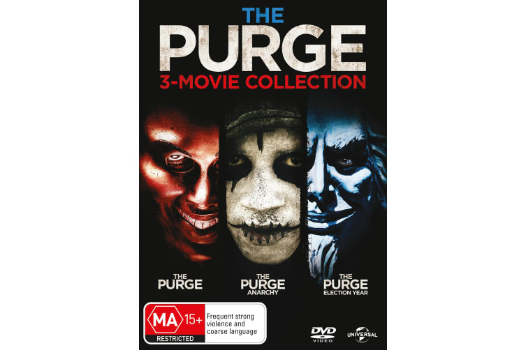 The Purge 3 Movie Collection DVD Region 4