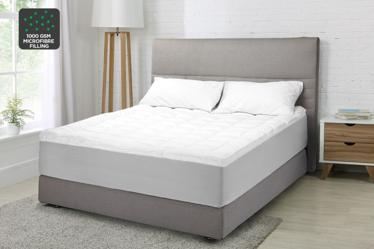 Ovela Luxury Pillow Top Mattress Topper (King)