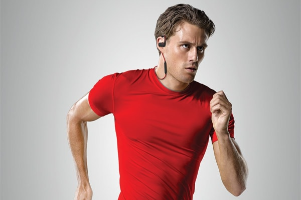 Jabra Sport Pace Bluetooth Earbuds (Red)