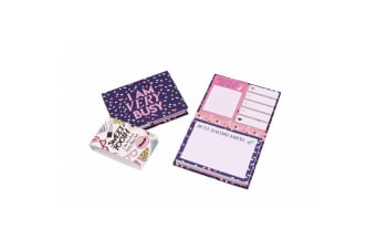 Sweet Tooth I Am Very Busy Sticky Note Set (Purple)
