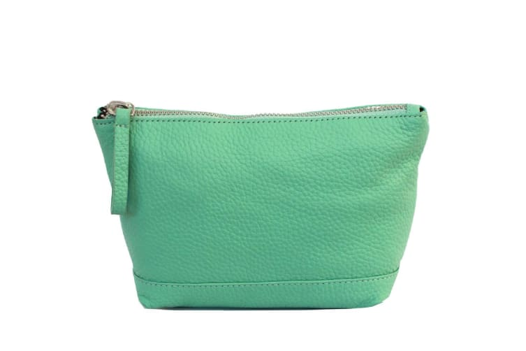 Eastern Counties Leather Womens/Ladies Cora Make Up Bag (Mint) (One size)
