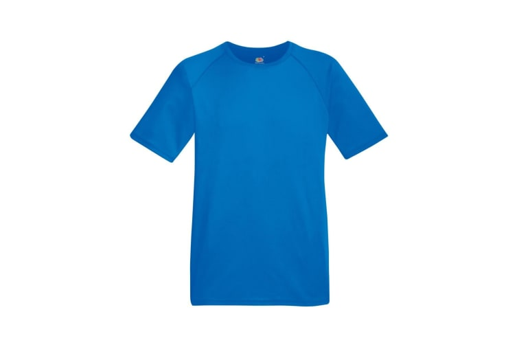Fruit Of The Loom Mens Performance Sportswear T-Shirt (Royal) (XL)