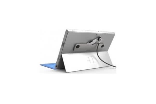 COMPULOCKS THE BLADE UNIVERSAL MACBOOKS TABLETS & ULTRABOOKS WITH T-BAR SECURITY CABLE KEYED LOCK SILVER
