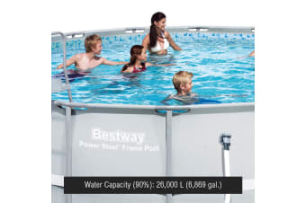 "Bestway 18' x 52"" Above Ground Swimming Pool"
