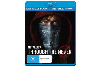 Metallica Through the Never 3D Edition with 2D Edition Blu-ray Region B