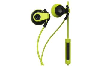 BlueAnt Pump Boost Wired HD Audio Sportbuds - Green