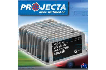 PROJECTA 30 AMP 24 VOLT TO 12 VOLT 12V WATERPROOF VOLTAGE REDUCER OUTPUT VR030
