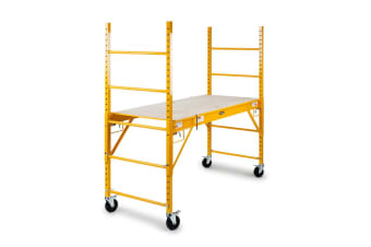 Baumr-AG 450kg Mobile Scaffold High Work Platform Scaffolding Portable