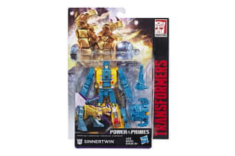 Transformers Generations Power of the Primes Deluxe Class Terrorcon Sinnertwin