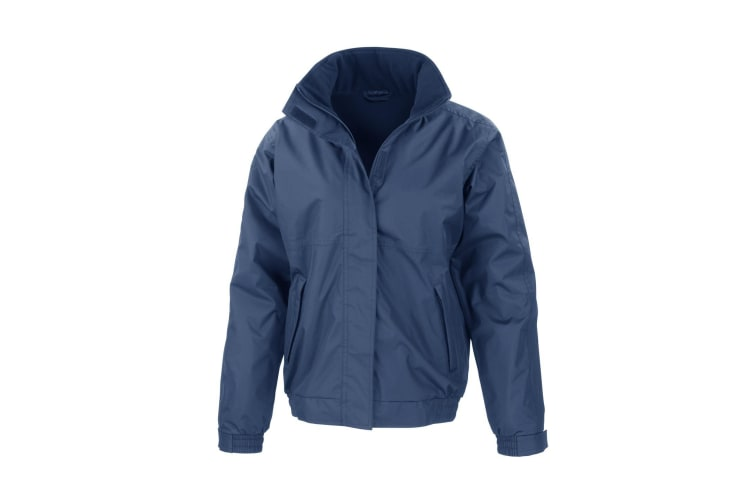 Result Core Mens Channel Jacket (Navy Blue) (3XL)