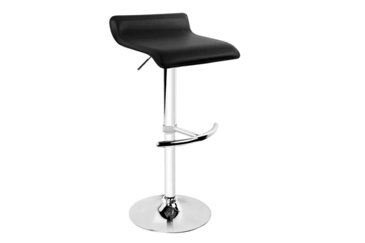 Set of 2 Mika Barstools (Black)
