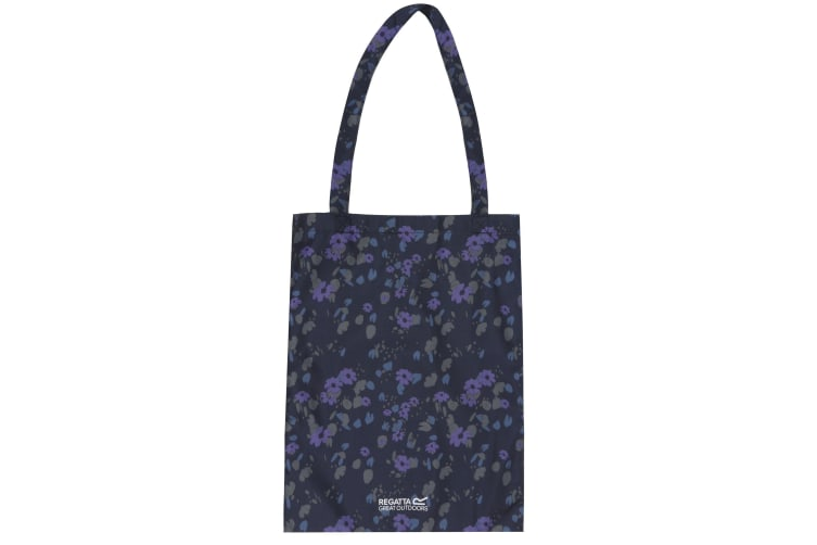 Regatta Great Outdoors Packable Tote Bag (Fauna Navy) (One Size)
