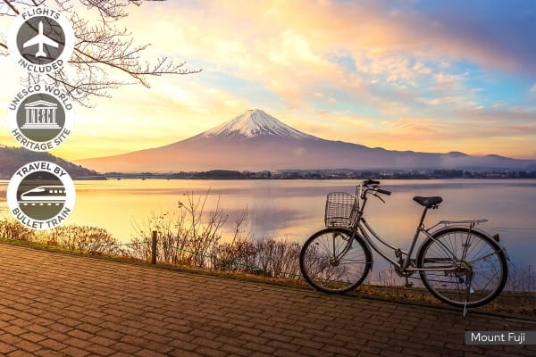 JAPAN: 10 Day Kyoto & Tokyo Hike & Bike Tour Including Flights For Two