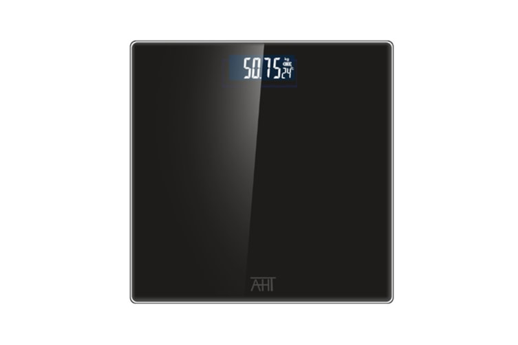 Electronic Measuring Device-Digital Home Body Bath Scale Black