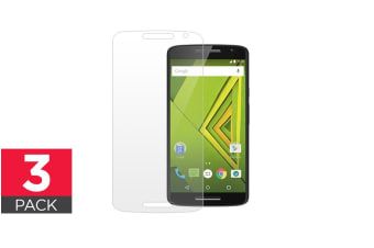 3 Pack Screen Protector for Motorola Moto X Play