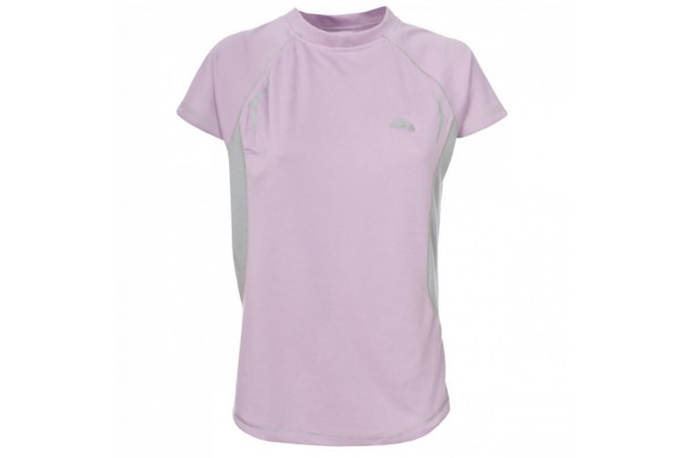 Trespass Womens/Ladies Emmie Active Short Sleeve Baselayer Top (Dusky Pink) (L)