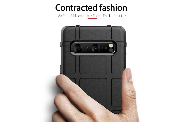 For Samsung Galaxy S10 5G Case  Shockproof Shield Light Armour Cover  Grey