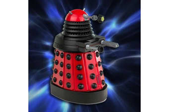 Doctor Who Desktop Desk Patrol Dalek | Table Office Toy BBC Dr Series Automatic Robotic