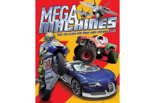 Mega Machines - Roar into Action with These Super-Charged Racers!