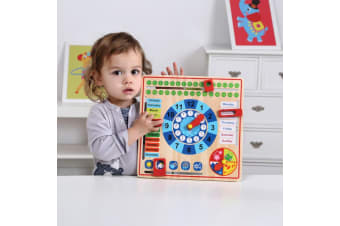 My Calendar Wooden Learning Set - Tooky Toy