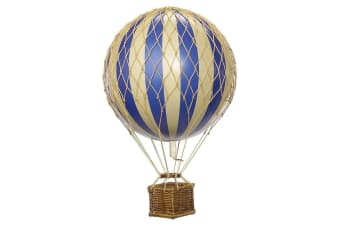 Ornamental Hanging Hot Air Balloon - Mini 8.5cm - Blue