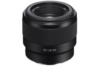 New Sony FE 50mm F1.8 Lens (FREE DELIVERY + 1 YEAR AU WARRANTY)