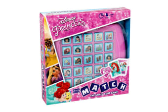 Top Trumps Match Disney Princess Board Memory Game Cards 4y+ Family/Kids/Adult