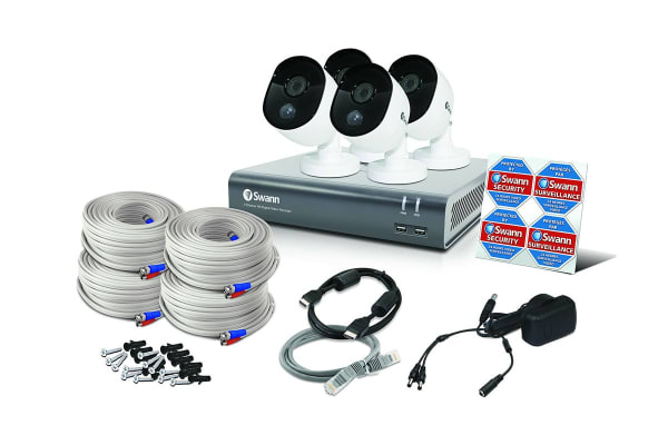 Swann 4 Channel Security System with 4 x Thermal Sensing Cameras & 1080p Full HD DVR-4480 (SWDVK-444804)