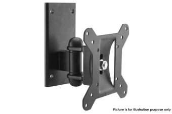 "Lcd Tv Swivel & Tilt Wall Mount Bracket 10,19"" 22""-26 Up To 20Kg - Black"