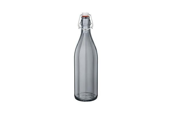 Bormioli Rocco Oxford Bottle with Top 1L Grey