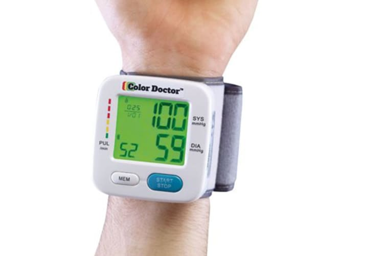 Color Doctor Portable Blood Pressure Monitor