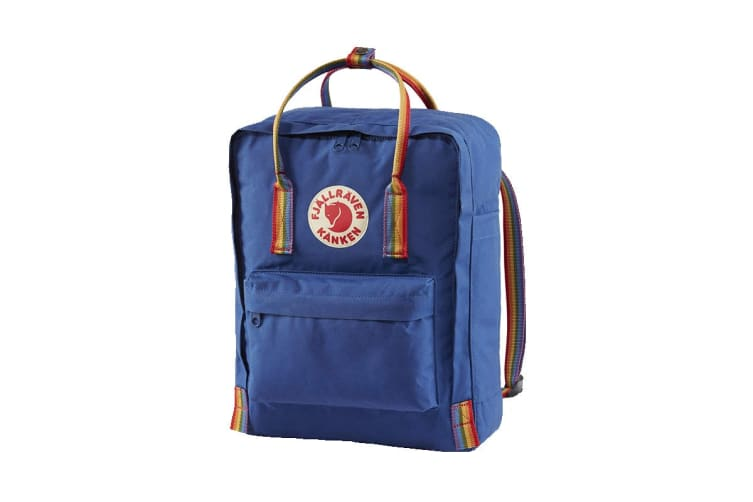 Fjallraven Kanken Rainbow (Deep Blue/Rainbow Pattern)
