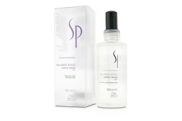 Wella Wella SP Balance Scalp Energy Serum (For Vital and Strong Hair) (100ml/3.4oz)