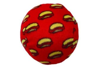 VIP Tuffy Mighty Medium Ball Dog Toy (Red)