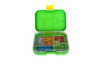 Munchbox Maxi 6 Bento Box Green Jungle