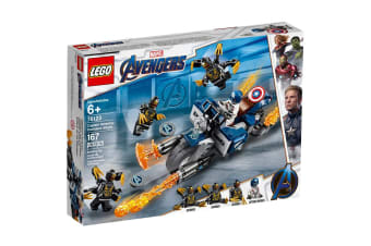 LEGO Marvel Captain America: Outriders Attack (76123)