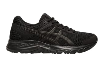 ASICS Women's Gel-Contend 5 Running Shoe (Black/Graphite Grey, Size 7.5 US)