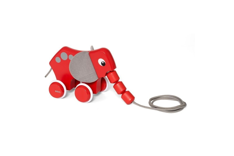 Brio Early Learning Toddler Pull-Along Elephant
