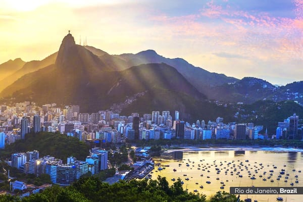 SOUTH AMERICA: 13 Day Brazil & Peru Tour Including Flights for One (Superior)