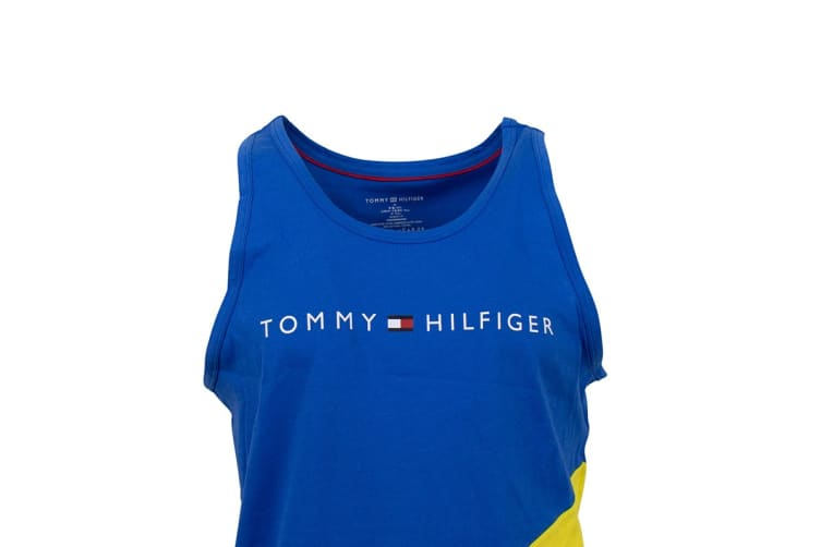 Tommy Hilfiger Men's Modern Essentials Tank Top (Canary, Size S)
